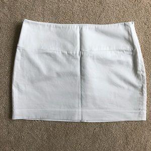 Express White Skirt Women's Skirt Size Small